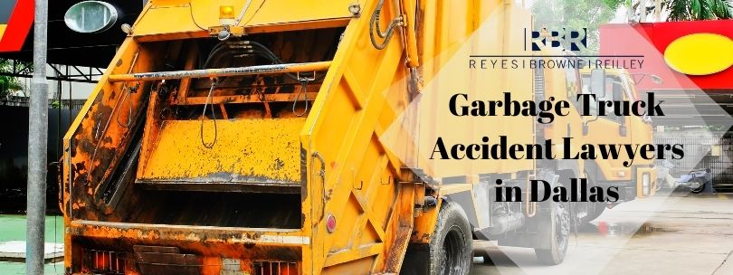 Garbage Truck Accident Lawyers in Dallas
